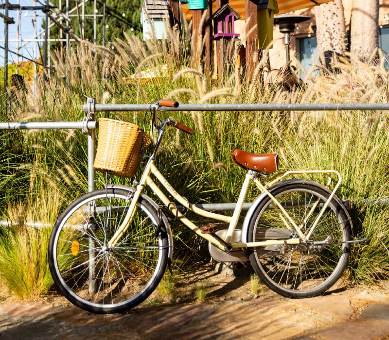 vintage bike park and paseo apartment community near tustin